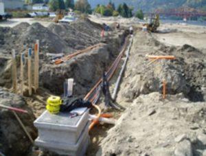Vacuum excavation to locate underground utilities