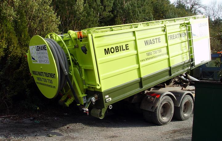 Sludge Dewatering (Mobile)