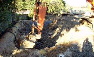 Excavation of Contaminated Soil