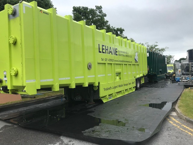 Mobile Bunded 86,000ltr Storage Tank