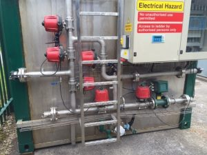 pH Tank - automatic valves