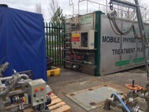 Mobile Physio Treatment Plant