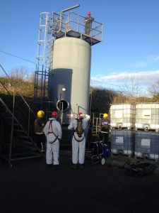 Confined Space Entry Team
