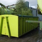 Roll on, roll off Contaminated Soil Bin