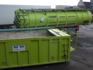 Articulated Suction Unit and Contaminated Soil Bin