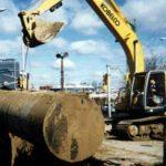 Excavation of Underground Storage Tank