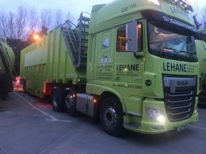 Irelands Largest Storage Tanker, 86,000 litre, being delivered to site